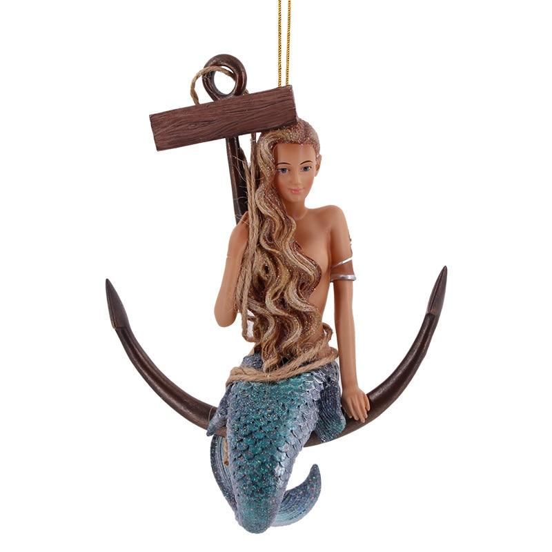 December Diamonds A Great Catch Mermaid Ornament