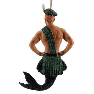 December Diamonds Keltic Kelly Merman Ornament
