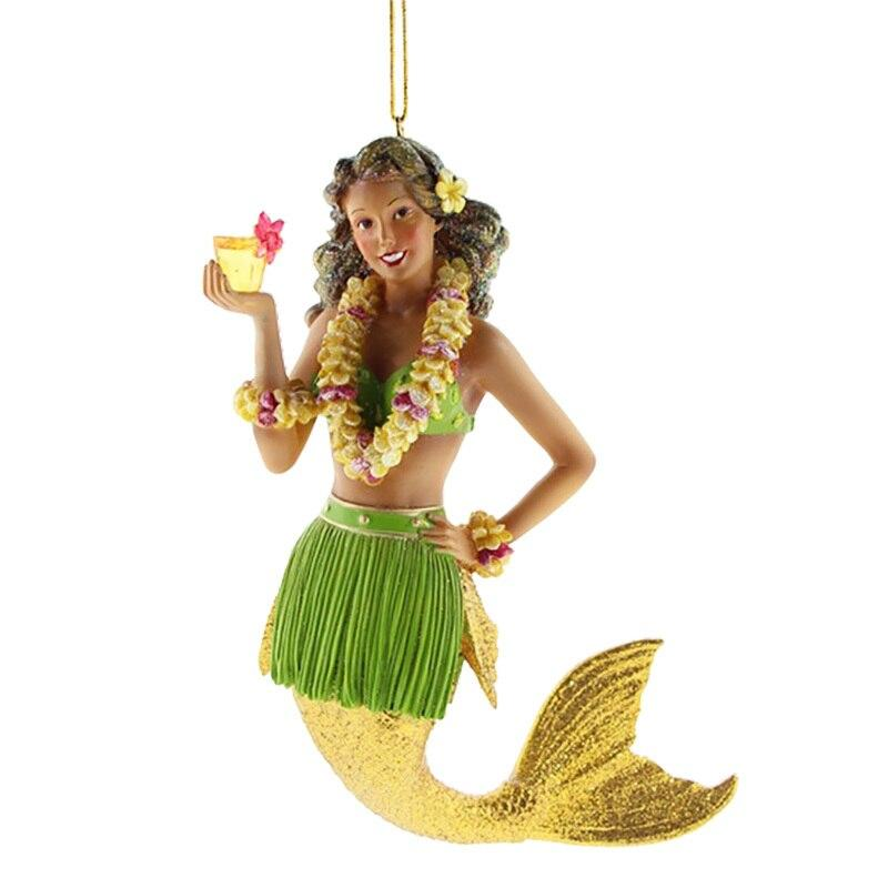 December Diamonds Mai Tai II Mermaid Ornament