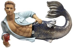 December Diamonds Triton Merman Display Statue
