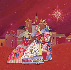 Cardpac Religious 3 Kings Christmas Cards Box of 12