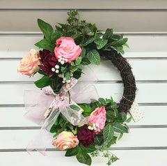 Wreaths - Two Roses