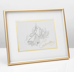 Disney Collectable Framed Cinderella Print