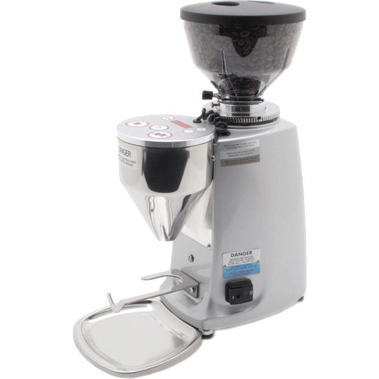 Mazzer Mini Electronic Doserless Espresso Grinder Type A - Silver - My Espresso Shop