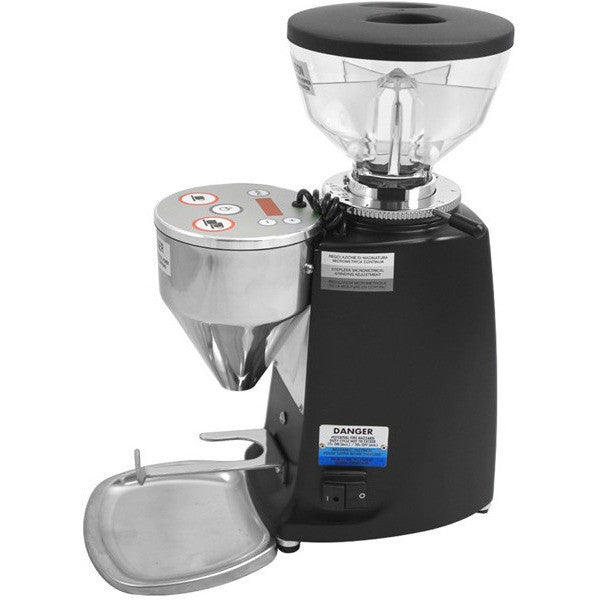 Mazzer Mini Electronic Doserless Espresso Grinder Type A - Black - My Espresso Shop