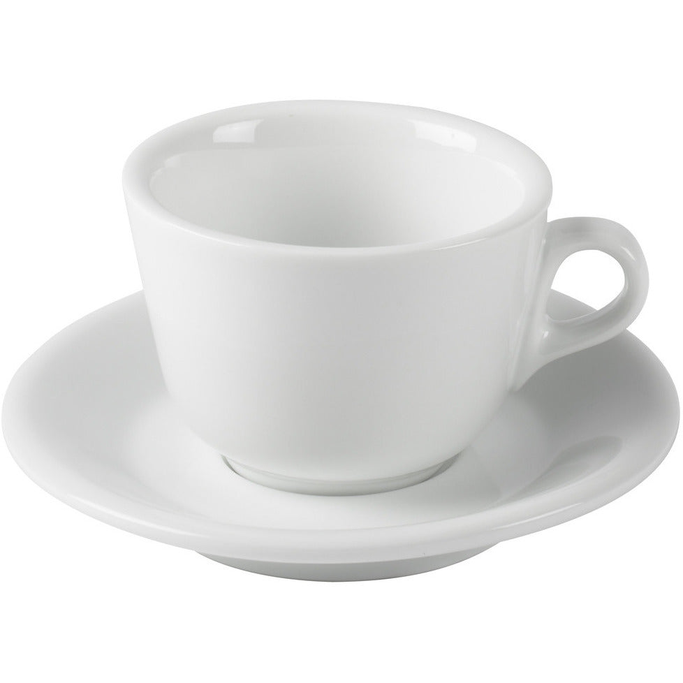 Set of 6 Cappuccino Cups & Saucers by Joe Frex - My Espresso Shop