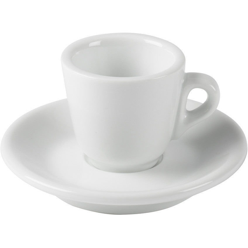 Set of 6 Espresso Cups & Saucer by Joe Frex