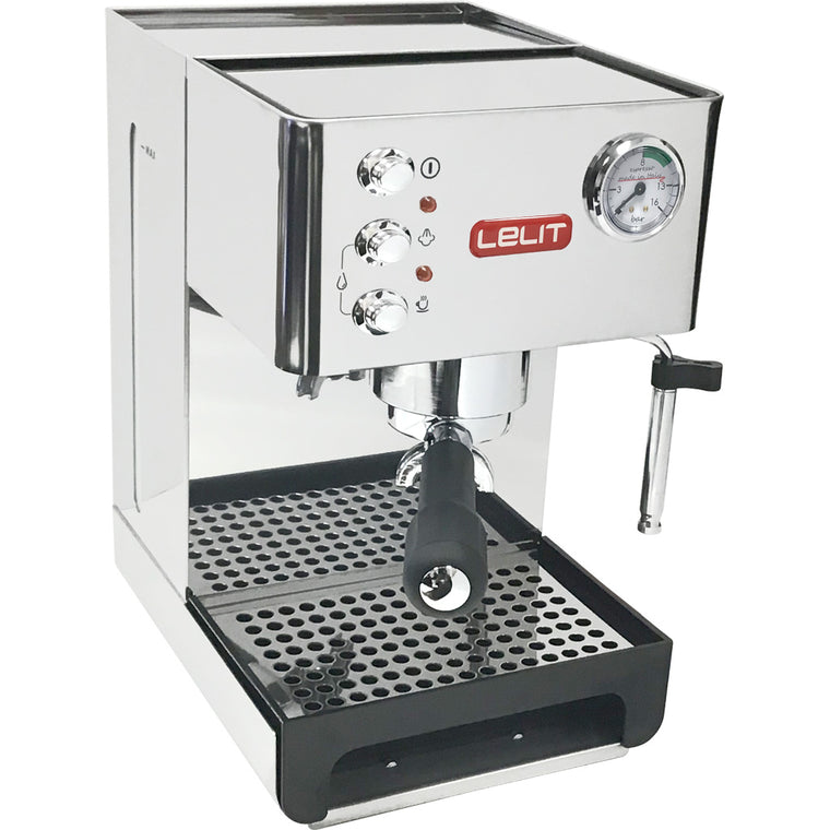 Lelit PL41EM Anna Stainless Steel Multifunctional Espresso Machine