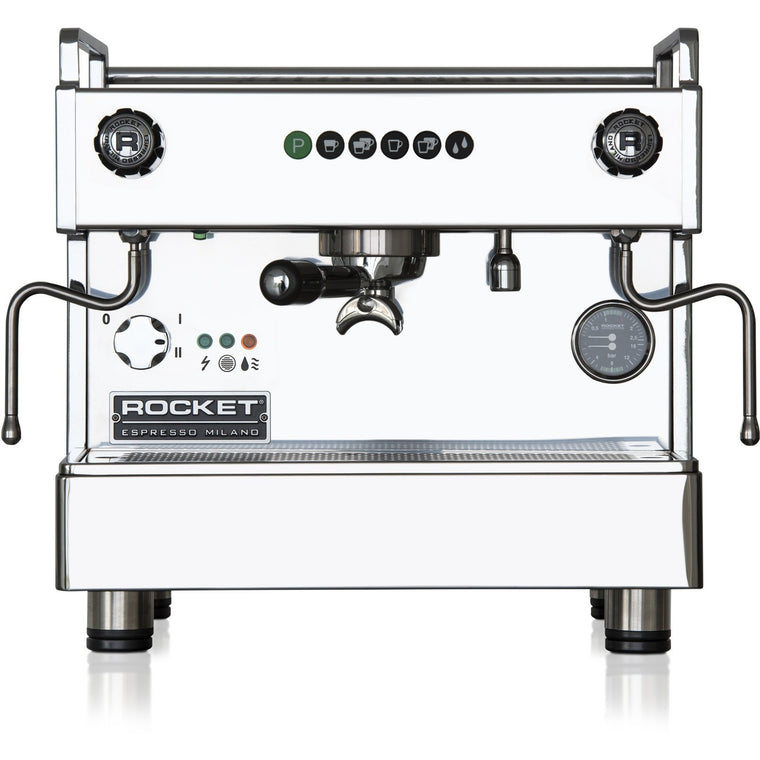 Rocket Espresso Boxer Timer Commercial Espresso Machine - 1 Group - My Espresso Shop