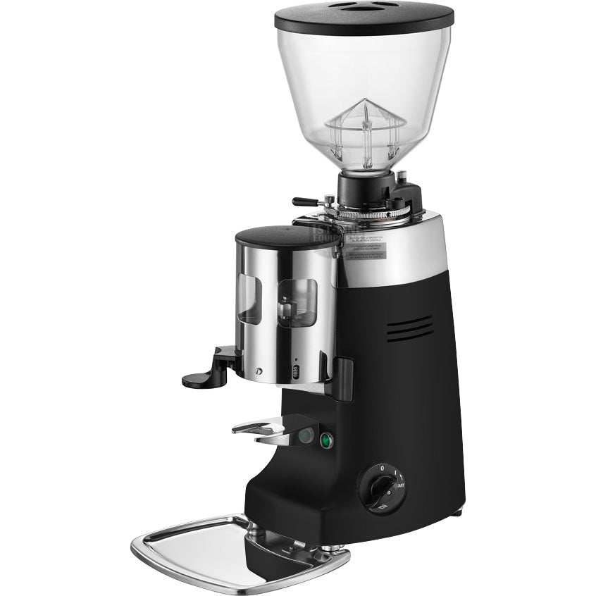 commercial espresso grinder in black