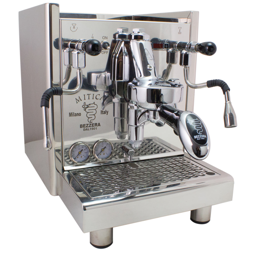 Bezzera Mitica PID Commercial Espresso Machine – switchable tank / direct connect – V2 - My Espresso Shop