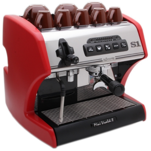 La Spaziale S1 Mini Red Vivaldi II Espresso Machine