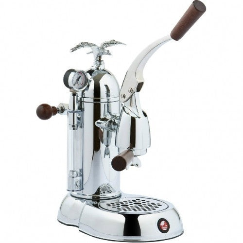 La Pavoni Romantica Chrome Espresso Machine - PGL-16