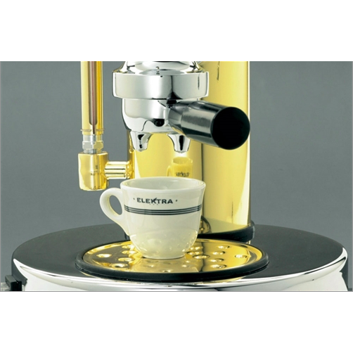 Elektra ART.S1CO Micro Casa Espresso Machine - Chrome and Brass - My Espresso Shop