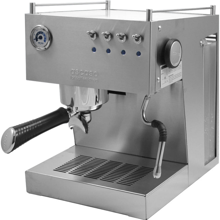 Ascaso Steel Uno Professional Espresso Machine – Brushed Stainless Steel Finish - My Espresso Shop