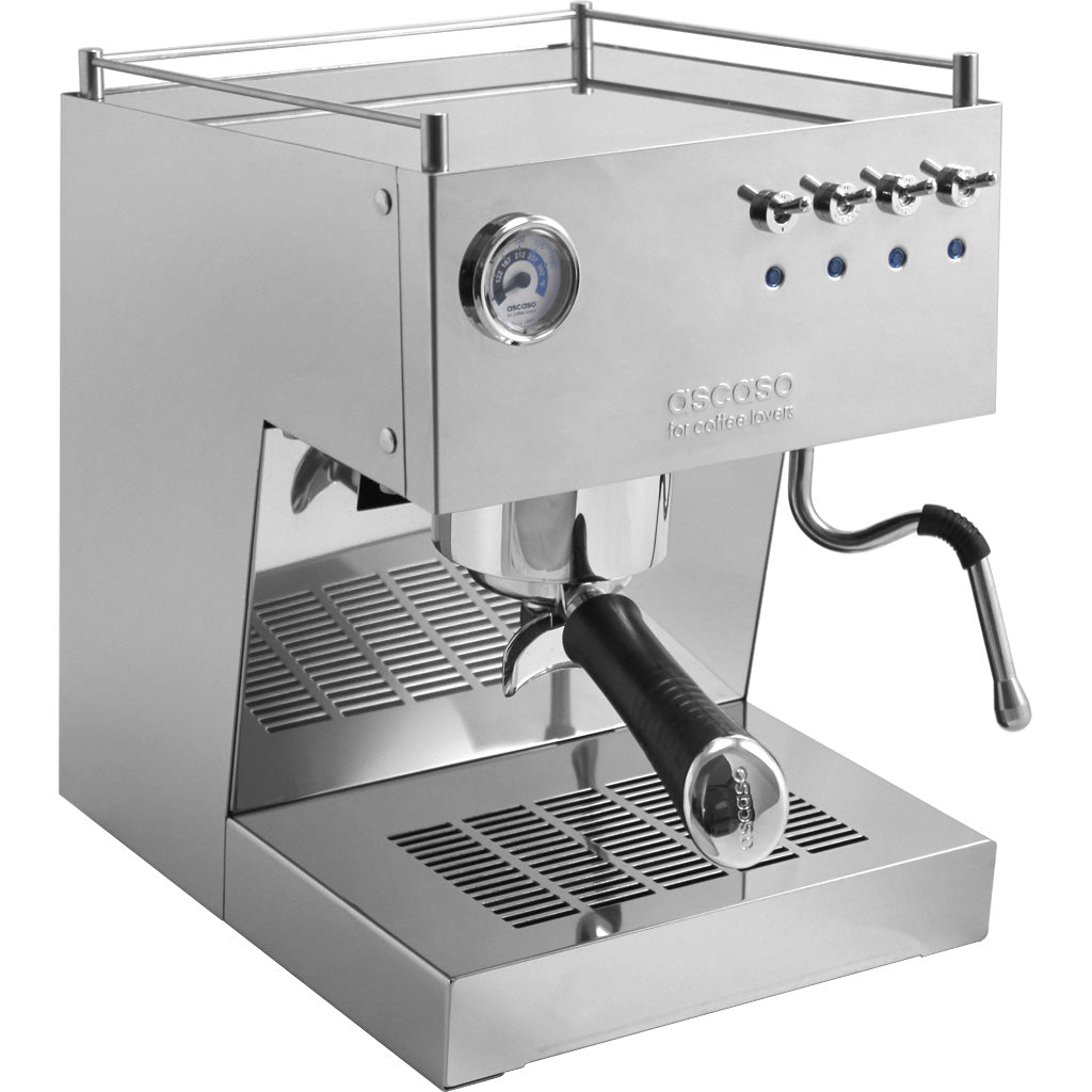 Ascaso Steel Uno Professional Espresso Machine – Mirrored Stainless Steel Finish - My Espresso Shop