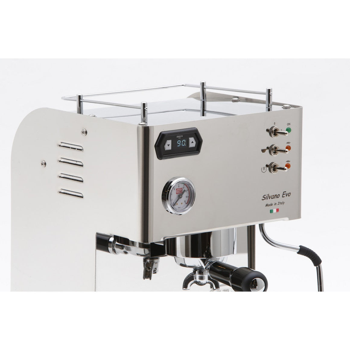 QUICK MILL SILVANO EVO ESPRESSO MACHINE - My Espresso Shop - 12