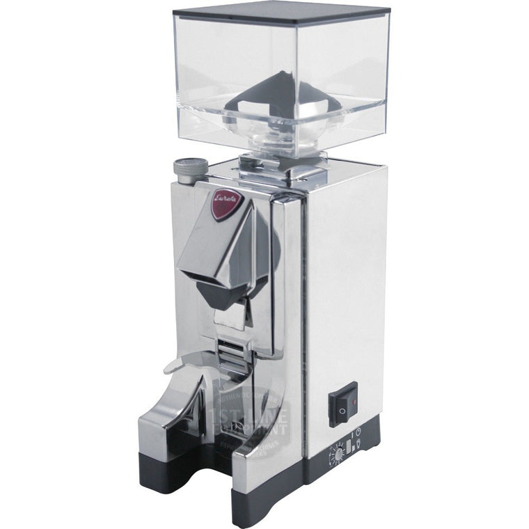 Eureka MCI Mignon Programmable Doserless Espresso Coffee Grinder - Chrome - My Espresso Shop