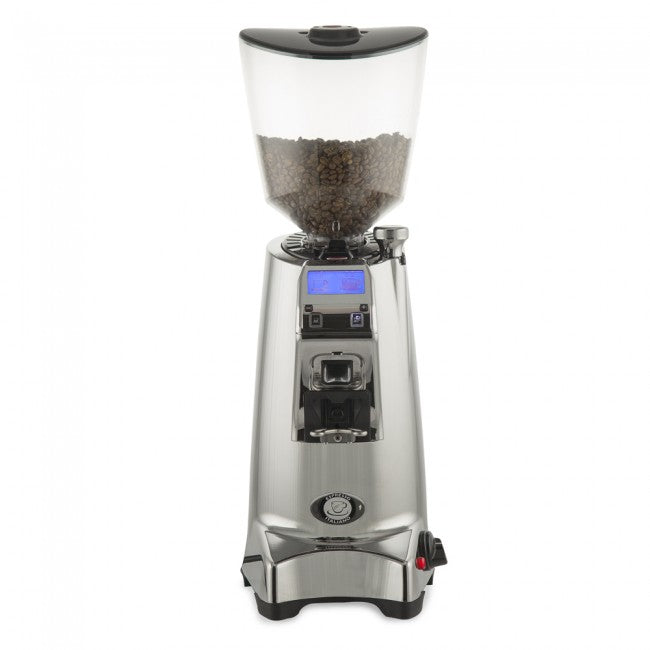 Eureka Olympus 75 E Hi-Speed Espresso Grinder - Chrome - My Espresso Shop