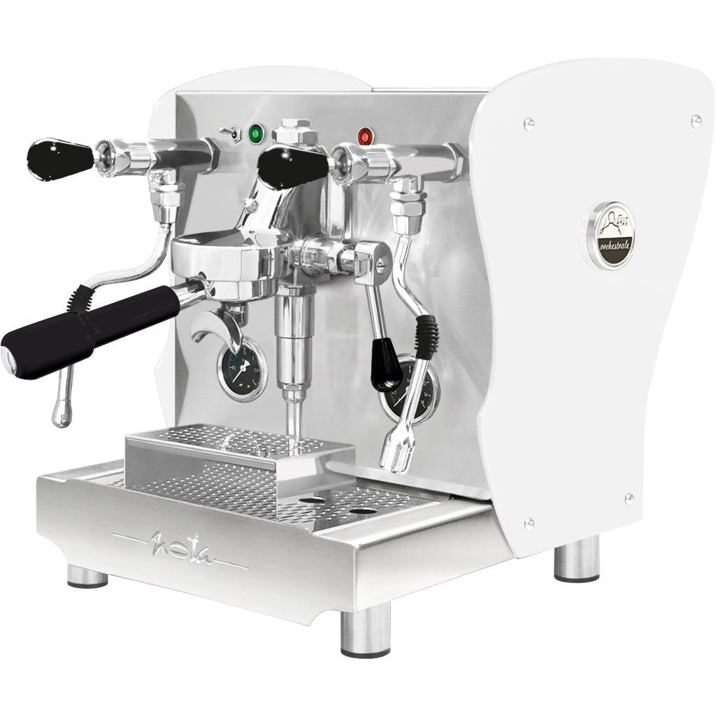 Orchestrale Nota Commercial Espresso Machine - White Tempered glass panels