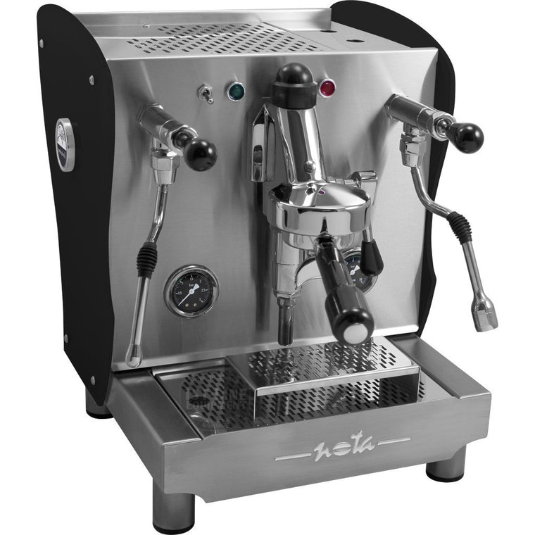 Orchestrale Nota Commercial Espresso Machine - Black Tempered glass panels - My Espresso Shop