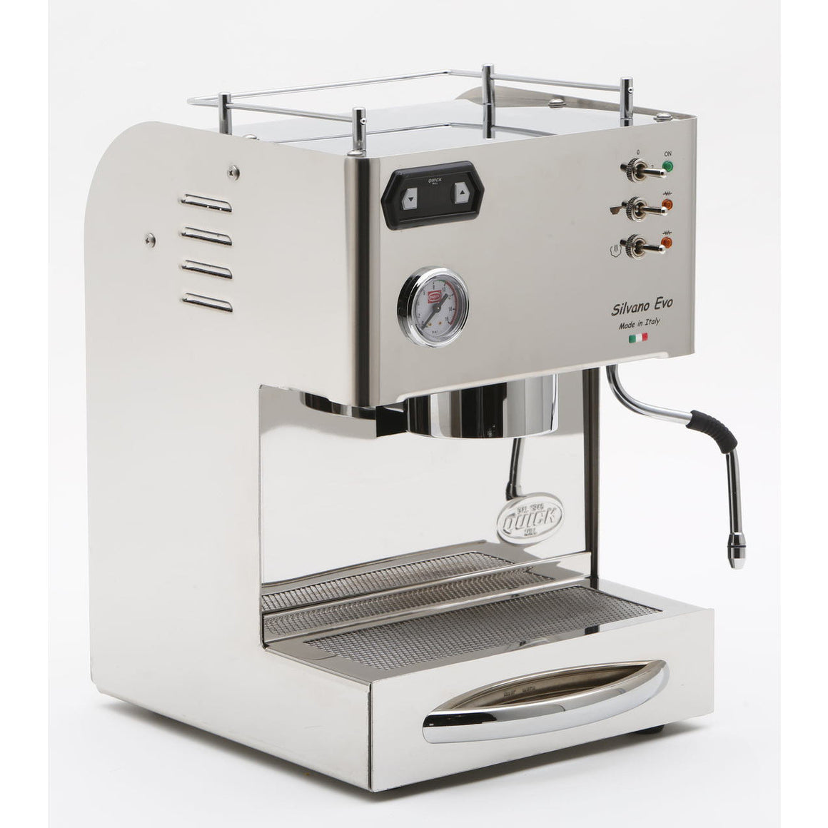 QUICK MILL SILVANO EVO ESPRESSO MACHINE - My Espresso Shop - 1