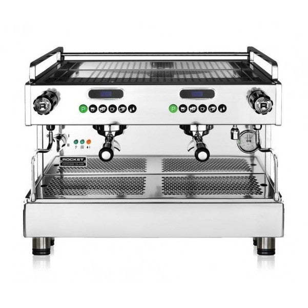 Rocket Espresso Boxer Timer Commercial Espresso Machine - 2 Group