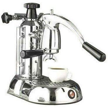La Pavoni Stradivari Manual Espresso Machine - Chrome - ESC-8 - My Espresso Shop