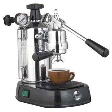 La Pavoni Professional Manual Espresso Machine - Black Base - PBB-16 - My Espresso Shop