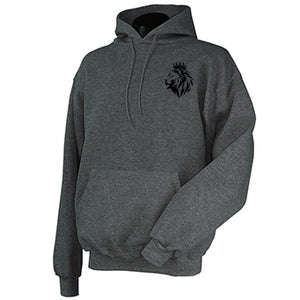 Lion of Judah- Pullover Hoodie with Embroidering - FDU - Faith Defines Us