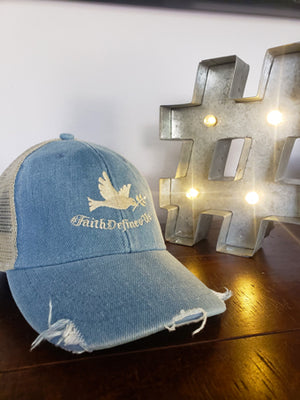 Faith Defines Us Dove Trucker Hat - FDU - Faith Defines Us