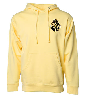 Lion of Judah- Pullover Hoodie with Embroidering