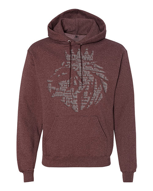Lion of Judah- Pullover Hoodie - FDU - Faith Defines Us