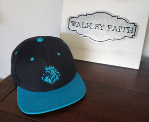 Lion of Judah - Sports Edition Snapbacks - FDU - Faith Defines Us