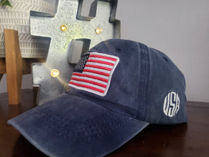America Baseball Caps - FDU - Faith Defines Us