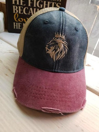 123e16ec Lion of Judah- Trucker Hats