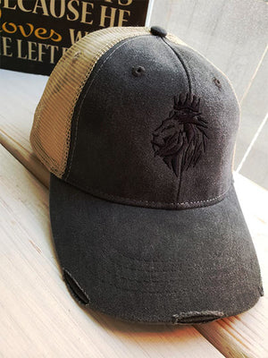 Lion of Judah- Trucker Hats - FDU - Faith Defines Us