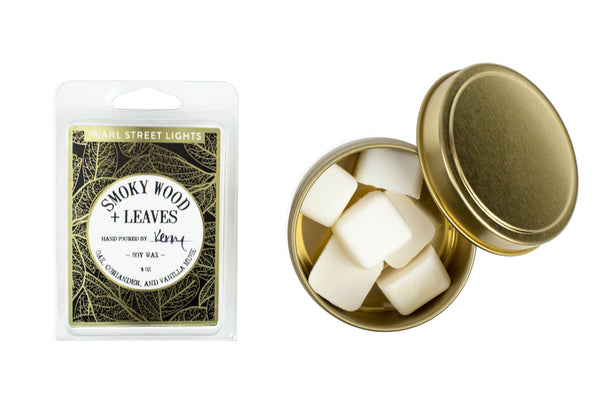 Smoky Wood + Leaves Wax Melts