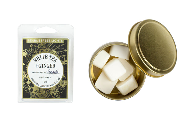 White Tea + Ginger Wax Melts