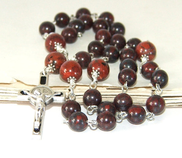 Man's Christian Rosary, St Benedict Cross