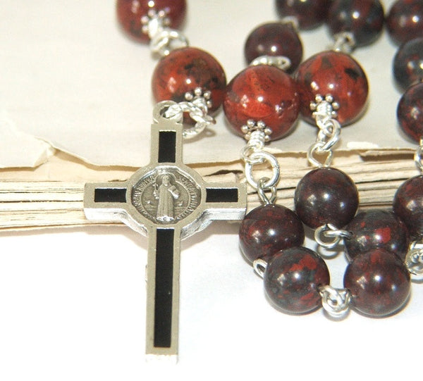 Anglican rosary, St Benedict cross