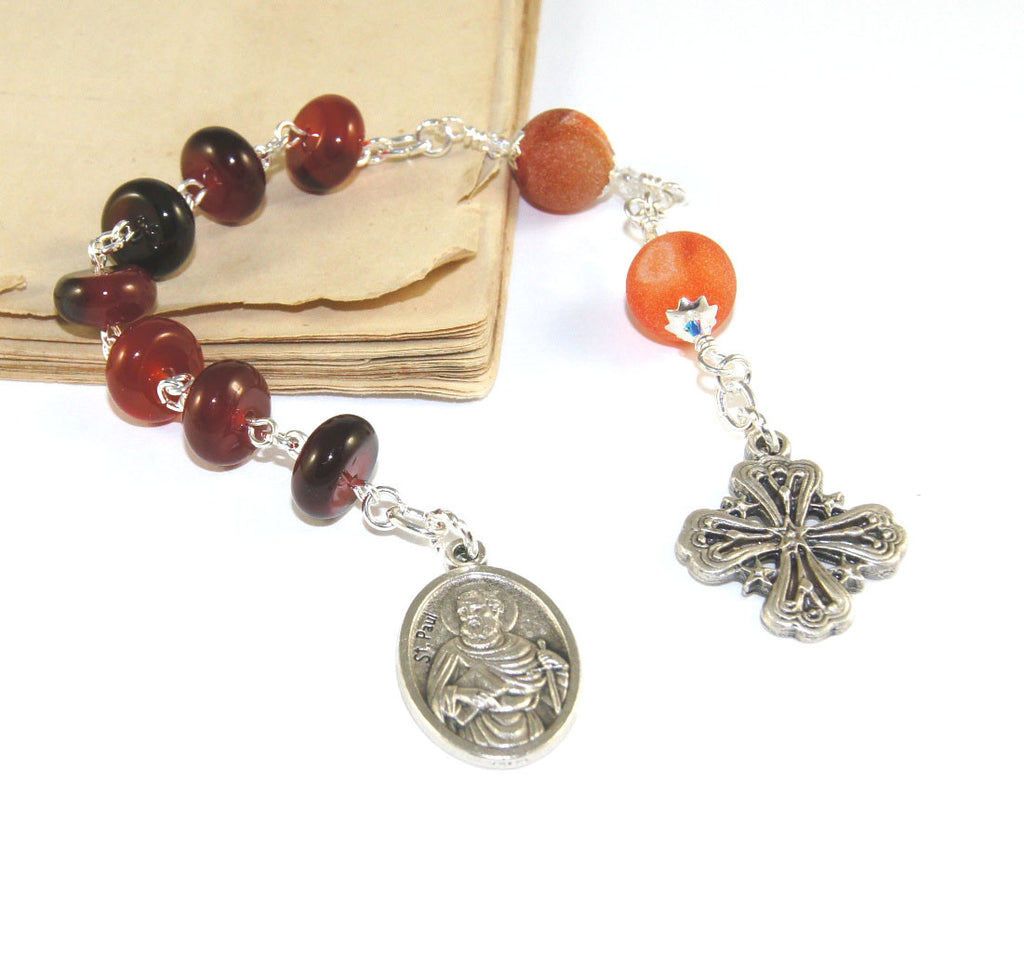 Saint Paul rosary chaplet, Christian prayer beads