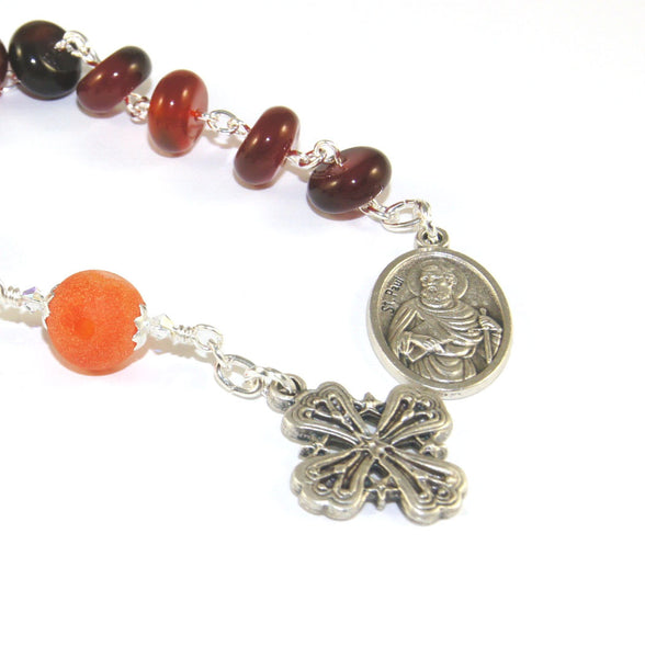 Small Anglican rosary, New Zealand made