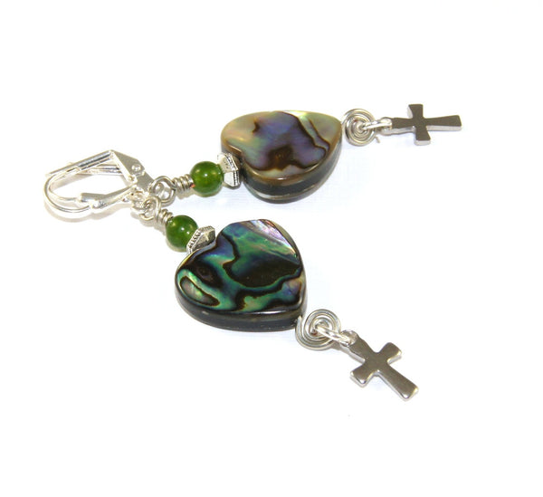 New Zealand Christian earrings