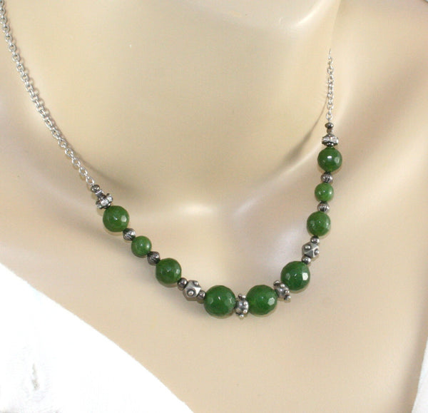 Greenstone necklace, handmade in New Zealand