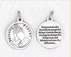Serenity Prayer medal