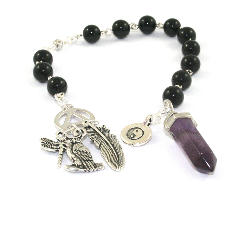 Recovery prayer meditation beads, 12 step program