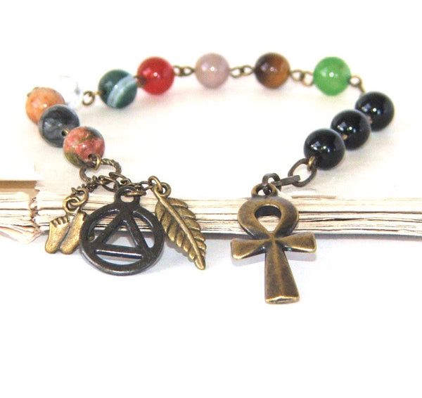 12 step recovery prayer beads