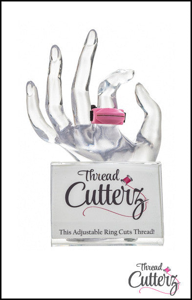 Thread Cutterz Point of Sale Hand Display