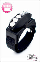 "Custom Swarovski Crystal ""Bedazzled"" Thread Cutterz Rings!"